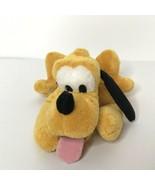 "Disney Store Pluto Plush Stuffed Animal Beanie 10"" Long - $12.94"