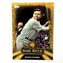 Babe Ruth 2015 Topps The Babe Ruth Story Insert #BR-6 MLB HOF New York Yankees - $1.93