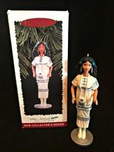 Hallmark Ornament Native American Barbie Dolls of The World Collectors S... - $9.90