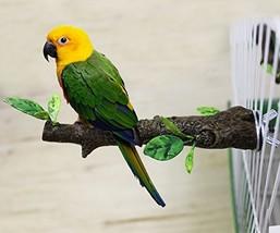 Mrli Pet Simulation Branch Bird Perches Stand Birds Cage Supplies Statio... - $15.89