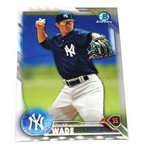 Mlb Tyler Wade New York Yankees 2016 Bowman Chrome Baseball #BCP106 Nmnt - $1.07