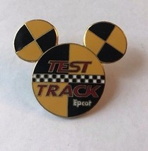 Disney Mickey Head Ears Test Track Epcot Pin Trading Pinback - $9.49