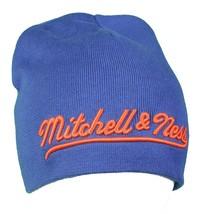 Mitchell & Ness Royal Blue Orange Est 1904  New York Knick Color-Way Beanie NWT