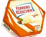 Ferrero Kusschen KISSES in WHITE chocolate- Made in Germany FREE SHIPPING