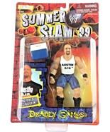 Stone Cold Steve Austin WWF WWE Jakks Action Figure Deadly Games 1999 Co... - $24.70