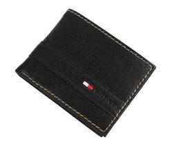 Tommy Hilfiger Men's Leather Credit Card Id Wallet Billfold Black 31TL22X023 image 7