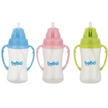 240ml Baby Infant Cups with Handle  Large Caliber Water Feeding Kids Cut... - $15.50