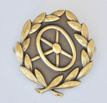 WWII German Army Drivers Qualification Badge - Gold - $23.36