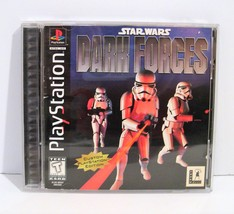 Star Wars: Dark Forces (Sony PlayStation 1, 1997) Black Label PS1 Complete - $14.95