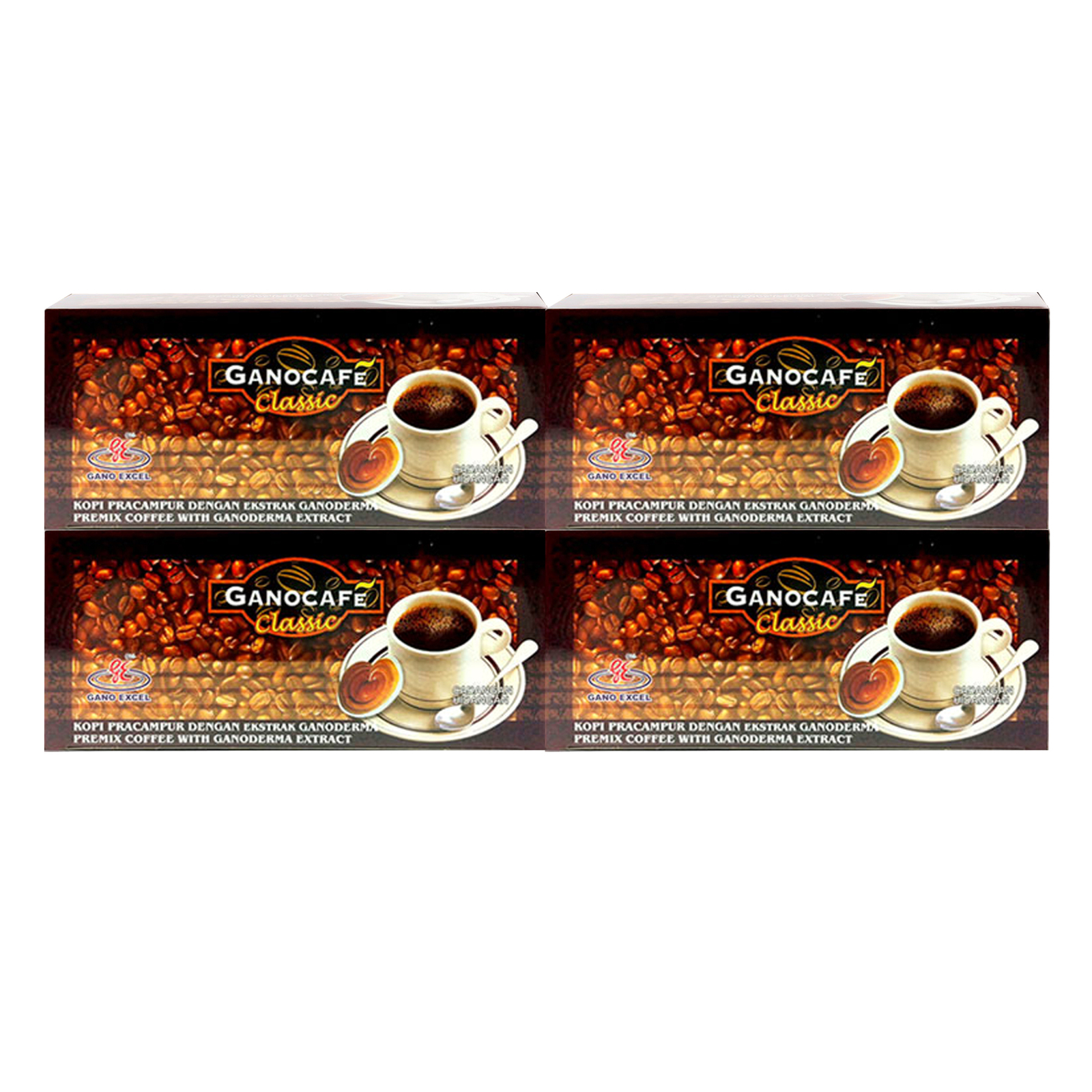 4 boxes gano cafe gano excel classic and 48 similar items 4 boxes gano cafe gano excel classic ganoderma black coffee free express ship reheart Choice Image
