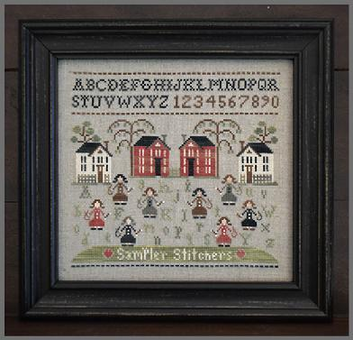 Sampler Stitchers cross stitch chart Little House Needleworks