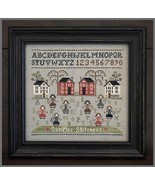 Sampler Stitchers cross stitch chart Little Hou... - $7.65