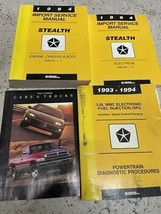 1994 DODGE STEALTH Service Repair Shop Workshop Manual Set W Brochure + ... - $59.35