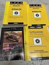 1994 DODGE STEALTH Service Repair Shop Workshop Manual Set W Brochure + ... - $59.35
