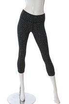 Nike Women's Epic Run Crop Leggings 'Starglass' Black/Silver 719854 XS NWT - $40.09