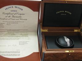 Franck Muller Cintree Curvex Diamond Watch #2500 QZD White Gold 18KT - $14,355.00