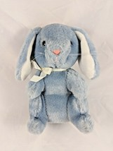"Dakin Rabbit Blue Plush 5"" 1989 Bunny Stuffed Animal toy - $7.95"
