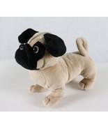 Woof Street Pug Dog Stuffed Plush - $11.77
