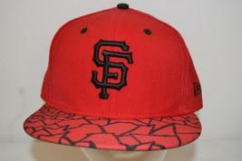San Francisco Giants Red/Black  Baseball Cap  Fitted 7 3/8 - €23,06 EUR