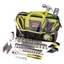Craftsman Tool Set Evolv 83 pc Homeowner Tools Ratchet Bits Socket Wrenc... - $77.00
