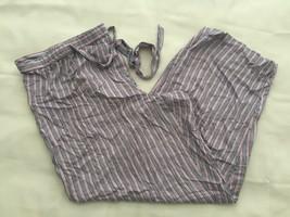Alfani Women's Woven Stripe-Print Pajama Pants 100006824 XXL - $16.36