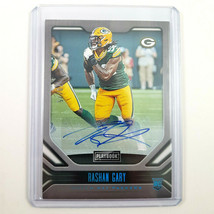 2019 Panini Playbook Rashan Gary RC Auto 70/75 NFL Packers Autograph - $26.52