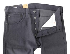 NEW LEVI'S 501 MEN'S ORIGINAL STRAIGHT LEG JEANS BUTTON FLY GRAY 501-1893 image 2