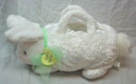 "Hallmark 2005 TALKING EASTER BUNNY BASKET 13"" Plush Stuffed Animal NEW - $18.32"