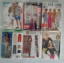 Simplicity Mc Call's Vogue Sewing Patterns Bundle 6 Sizes 6-22 - $12.86