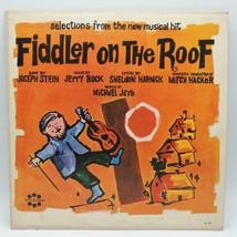 Vintage Sélections From Fiddler Sur Le Toit Record Album Vinyle LP - $30.01