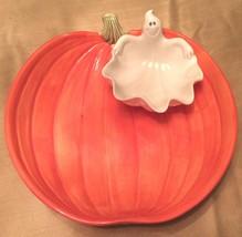 New 1997 Fitz & Floyd Large Halloween Pumpkin W... - $150.00