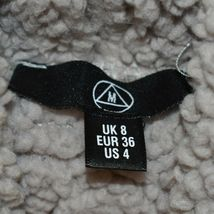 Missguided Women's Grey Oversized Fleece Sweater Dress US 4   UK 8   EUR 36 image 3