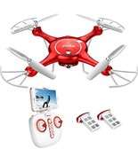 DoDoeleph Drone with HD Camera FPV Real-time WiFi Gravity Control RTF RC... - $97.96