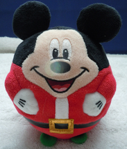 Ty Disney Round Micky Mouse Santa  - $2.99