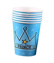 Set Of 10 Prince Party Paper Cup Drink Cups - $11.74