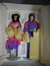"Donny & Marie Osmond ""Through the Years"" Porcelain Dolls 01538  NEW Brac... - $51.00"