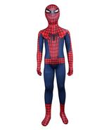 Kids Spiderman Costume Children Superhero Cosplay Party Full Bodysuit - $37.65
