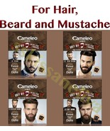 Delia CAMELEO MEN Grey Off for Hair, Mustache and Beard 2 SACHETS x 15 ml - $8.39