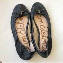 Sam Edelman Black Felicia Classic Ballet Flat Size 6.5M - $19.80