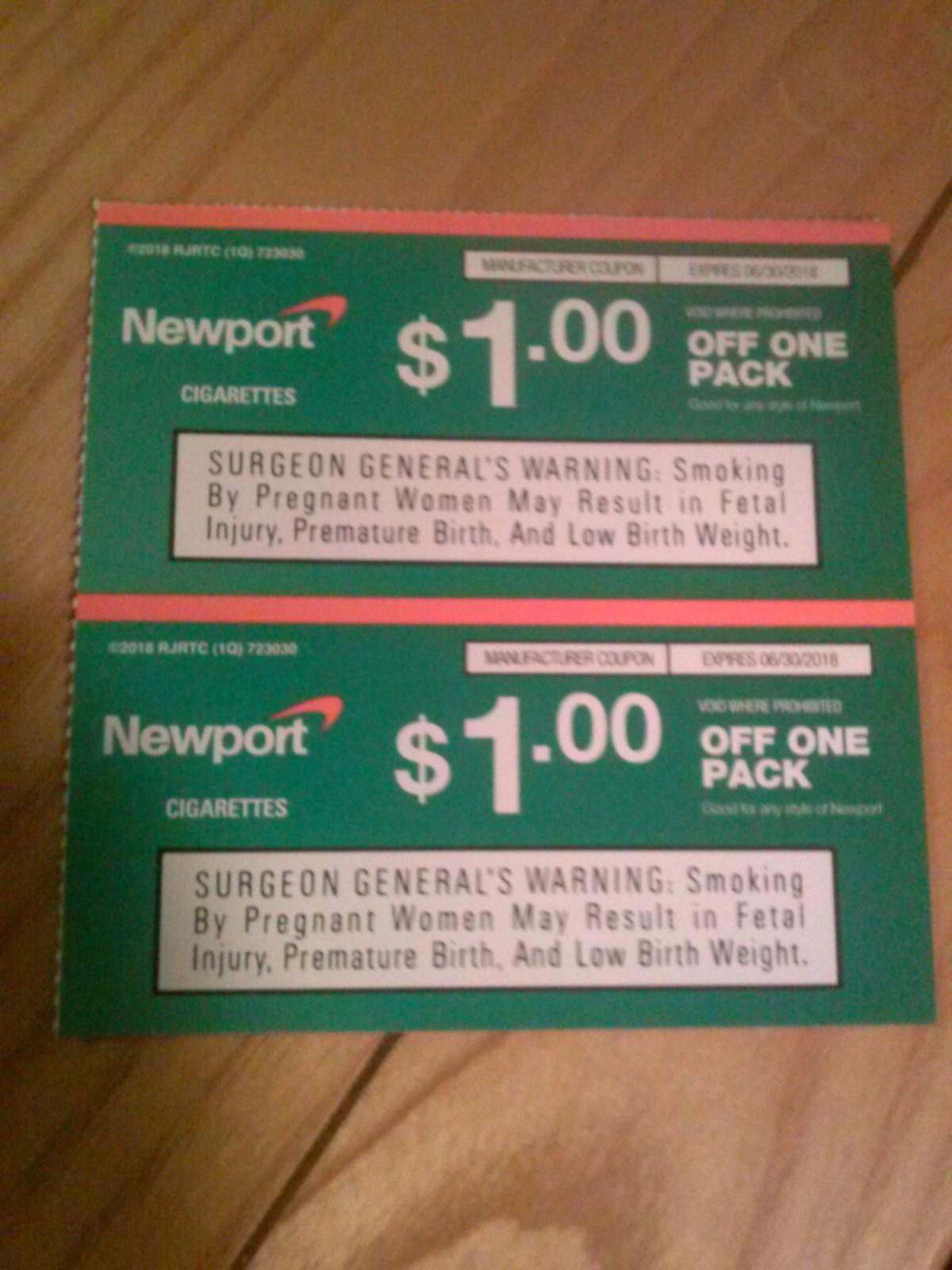 Newport digital coupons