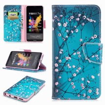 Pattern Printing PU Leather Wallet Stand Cell Phone Case for Huawei Hono... - $5.98