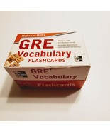 McGraw-Hill's GRE Vocabulary Flashcards. Perfect shape - $11.00
