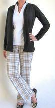 Stylish Women's Golf & Casual Tan Short Sleeve Mock Polo, Rhinestone Zipper  image 5