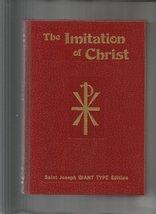 The Imitation of Christ (Saint Joseph GIANT TYPE Edition) [Hardcover] [J... - $49.99