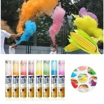 Powder Cannon Smoke Bomb Confetti Holi PVC Color Corn Rotating Stick Spray - $9.97