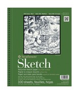9 x 12 Artist Sketch Book Drawing Pad Notebook Blank Paper 100 Sheet Sup... - $13.36