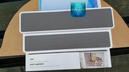 Madesmart 3 Tier Shelf and cupboard Organiser In White - $11.82+