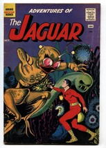 Adventures of the Jaguar #2 1961- Archie comics- alien cover- VG - $37.83