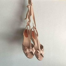Christian Louboutin Espadrille Sandals Lace Up US 6.5 Bronze Beige Rare ... - $160.00
