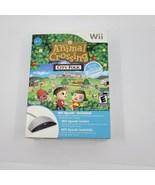 Nintendo Wii Video Game - Animal Crossing City Folk Complete W Wii Speak  - $45.00